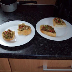 Prawn (Shrimp) Bruschetta