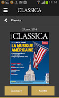 Screenshot of Classica - Magazine