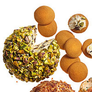 Lemon-Pistachio Cheese Ball