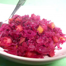 Red Cabbage W/Apples and Grape Jelly