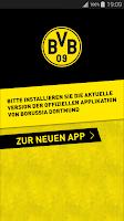 Screenshot of Neue Version installieren