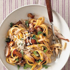 Chicken and Mushroom Tagliatelle