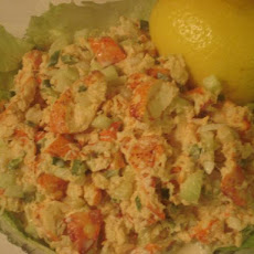 Lobster Salad (British Virgin Islands -- Caribbean)