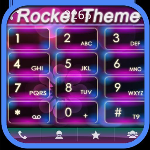 RocketDial Holo Theme LOGO-APP點子