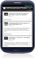 Screenshot of CSR Racing Cheats N Tip Guides