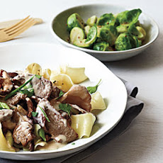 Grainy Mustard Brussels Sprouts