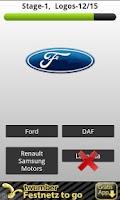 Screenshot of Logo Quiz Car Choices