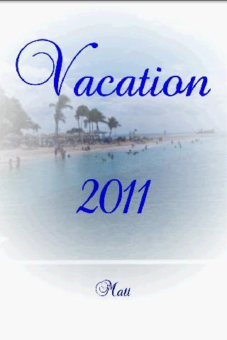 Vacation InstEbook