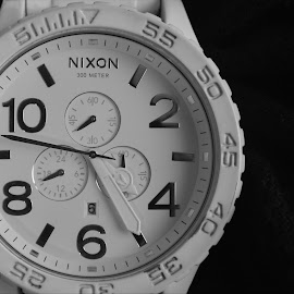 Time by Dalton Bayliss - Artistic Objects Clothing & Accessories ( product, black and white, macro photography, still life, watch, watches, photography,  )