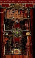 Screenshot of Steampunk GO Locker Theme