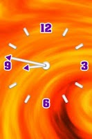 Screenshot of Transparent Clock Widget