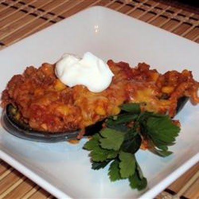 Stuffed Mexican Peppers