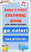 Screenshot of Baby's First Coloring Book