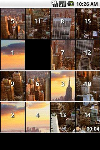 New York City Slide Puzzles