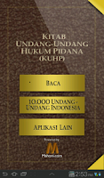 Screenshot of Undang-Undang Hukum Pidana