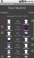 Screenshot of Next La Liga Match FREE