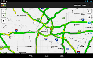 Screenshot of Sigalert - Traffic Reports