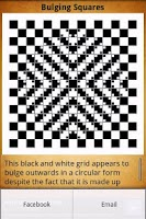 Screenshot of Optical Illusions