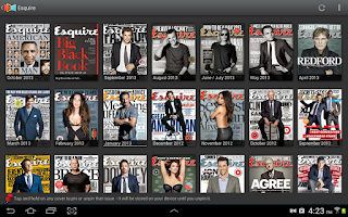 Screenshot of Next Issue Magazines