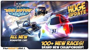 Screenshot of Mini Motor Racing
