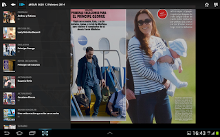 Screenshot of Revista ¡HOLA!