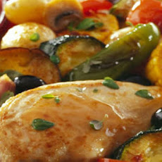 Chicken Breasts With Roasted Vegetables