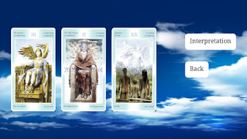 Screenshot of Tarot of the Angels lite