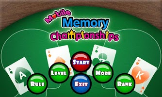 Screenshot of Memory Championship