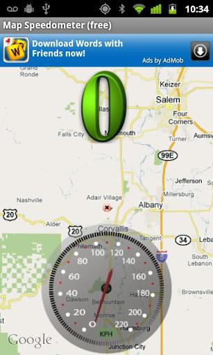 地图测速仪