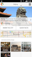 Screenshot of Beijing City Guide
