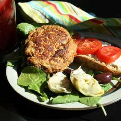 Vegetarian Faux Chicken Patties