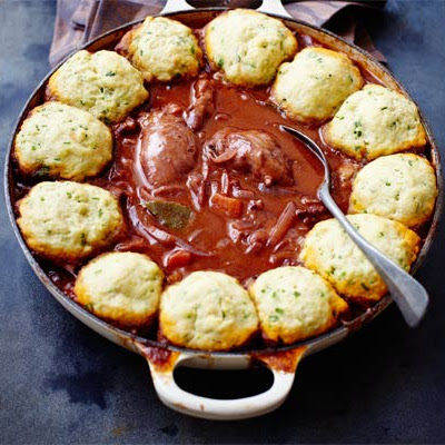 Chicken Casserole With Herby Dumplings