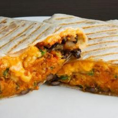 Easy Pumpkin Burrito