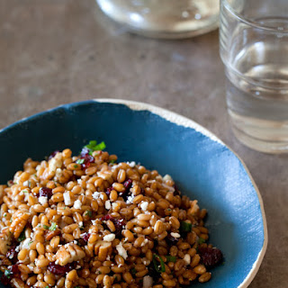 Wheat Berry Salad Cranberries Recipes