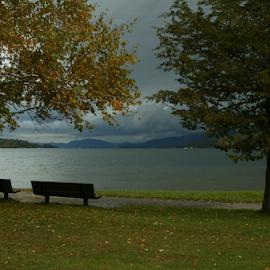 Rain Threatening by Alec Halstead - City,  Street & Park  Vistas (  )