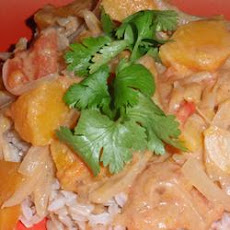 Guinean Peanut Sauce with Butternut Squash