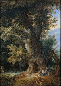 RIJKS: manner of Jan Brueghel (I): painting 1699