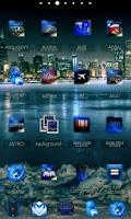 Screenshot of ADWTheme BlackIceADW