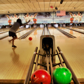 Strike? by Richard Timothy Pyo - Sports & Fitness Bowling