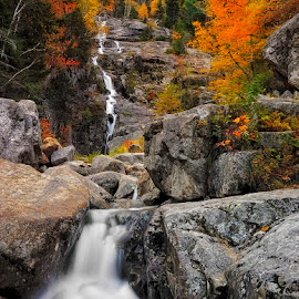 Cascades revisited by Michael Otter - Landscapes Travel