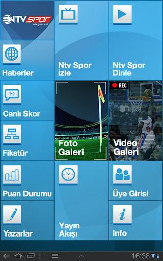NTVSpor.net Tablet