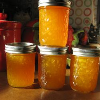 Ginger-Peach Jam
