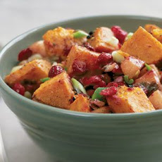 Sweet Potato and Cranberry Hash