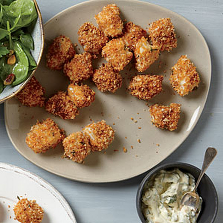 Crispy Fish Nuggets with Tartar Sauce