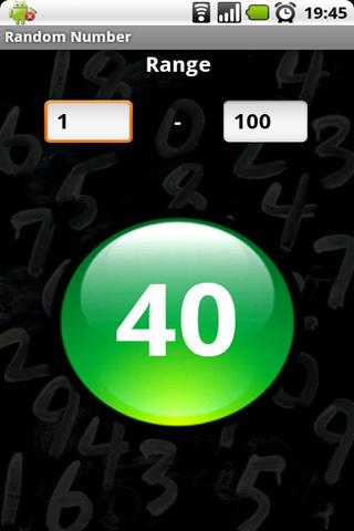 random-number-generator for android screenshot