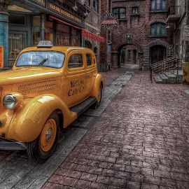Yellow Cab by Arul Aruleswaran - Transportation Automobiles