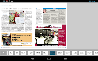 Screenshot of La Libre