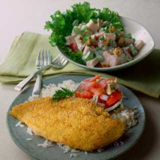 Oven Fried Haddock