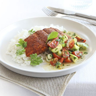 Cajun Spiced Salmon