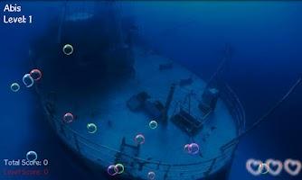 Screenshot of Bubbles Adventures Game